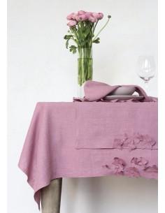 Față de masă din in Gelsomino