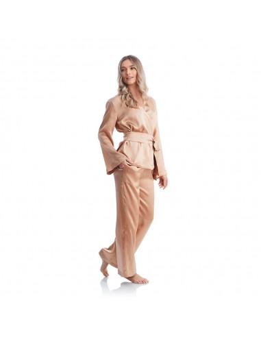 Pijamale Golden Morning din mătase