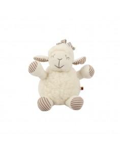 Jucărie eco Kati din lână, oiță, 25 cm - Maia Home